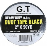 Wholesale Black Duct Tape 2 x 50 yards
