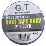 Wholesale Gray Duct Tape 2 x 50 yards