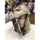Wholesale Camouflage Thick Winter Warm Lei Feng Hat-84132