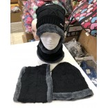 Wholesale hat and Scarf neck set
