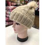 Wholesale eight-character hairy winter hat