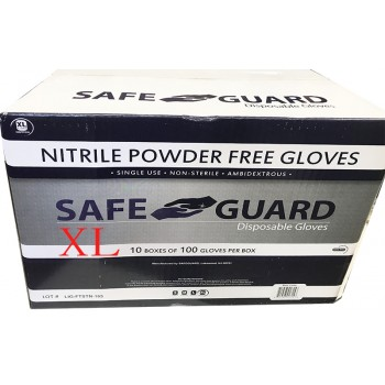 Wholesale Latex Blue Powder Free Gloves