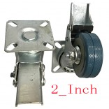 Wholesale 2-inch PVC Wheel  Full brake