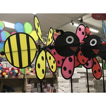 Wholesale Bee Ladybug  Windmill