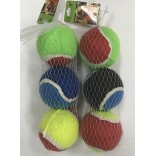Wholesale 3 Pieces tennis Color pet toys