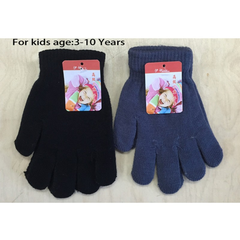 Wholesale winter Gloves for Kids 3-12 years old