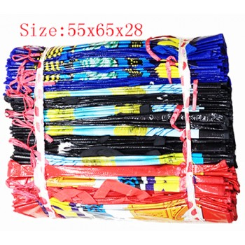 Wholesale Thick colored PVC Bags with zipper $1.00/each.