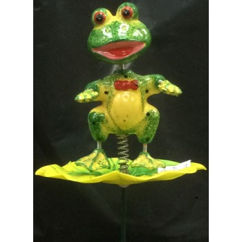 Wholesale Frog Lawn stake