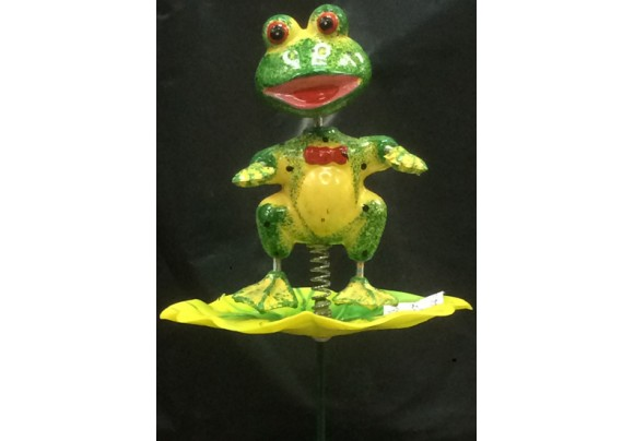7235-4-Frog Lawnstake