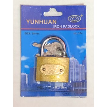 Wholesale 38mm Small Brass Padlock