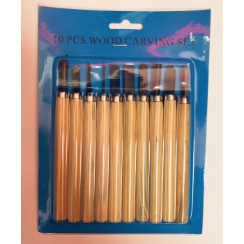 Wholesale 10 wood Carving  Knife set   $1.00/pack