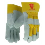 Wholesale  Heavy-Duty Work Gloves Safeguard-Yellow