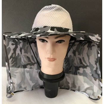 Wholesale Camouflage hats and back with net. #74461