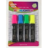 Wholesale 4/pk Highlighter Pens $0.50/each