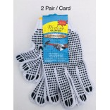 Wholesale PVC Dotted Working Gloves $0.50/pack.