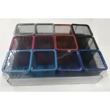 Wholesale Square pen holder #805-Color