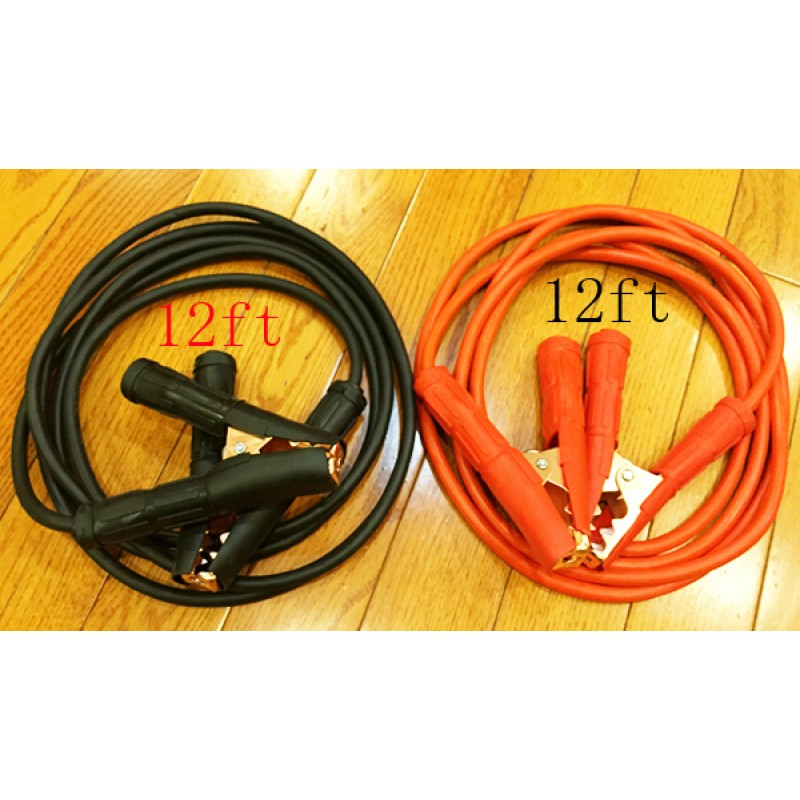 wholesale 12 Foot Jumper Cables - 10 Gauge, 1000 AMP Booster Cable Kit