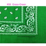 Wholesale Bandanas #Ban-08 Grass-Green.