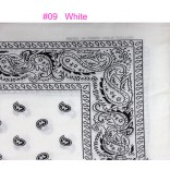Wholesale Bandanas #Ban-09 White.