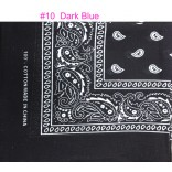 Wholesale Bandanas #10 Dark Blue.
