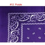 Wholesale Bandanas #Ban-12  Purple.