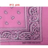 Wholesale Bandanas #13 Pink.