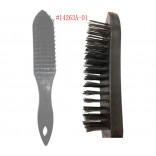Wholesale 10.75'' Black handle wire brush $0.50/ea.