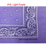 Wholesale Bandanas #16 Light-Purple.