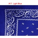 Wholesale Bandanas #17 Light-Blue.