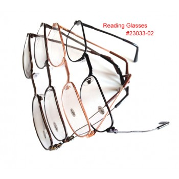 Wholesale Reading Glasses  23033-08. $0.45/Pair