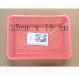 Wholesale  Plastic Square Basket  $0.45/each