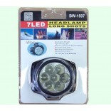 Wholesale  7 Led HeadLamp LongShots  $13.00/dozen