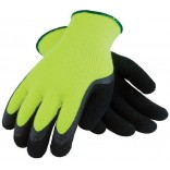Wholesale Hi-Visible Latex Coated Brushed Acrylic Thermal Glove